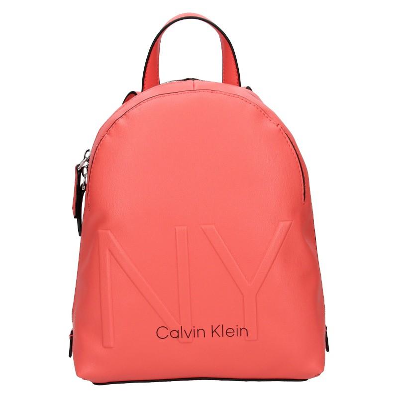 Dámsky batoh Calvin Klein Klea - koral