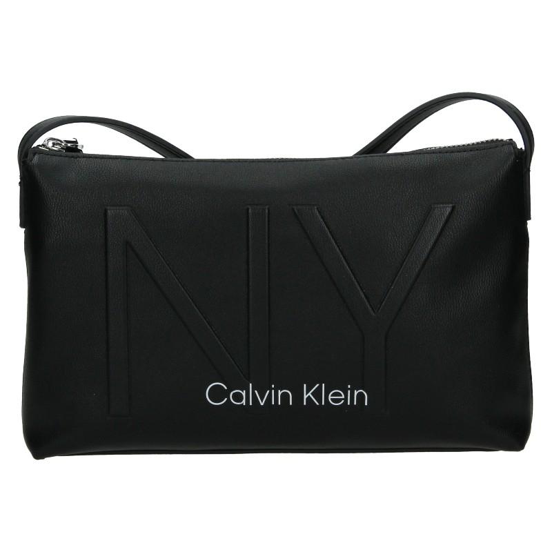 Dámska crossbody kabelka Calvin Klein Petrona - čierná
