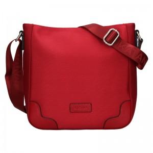 Dámska crosbody kabelka Katana Runa - červená