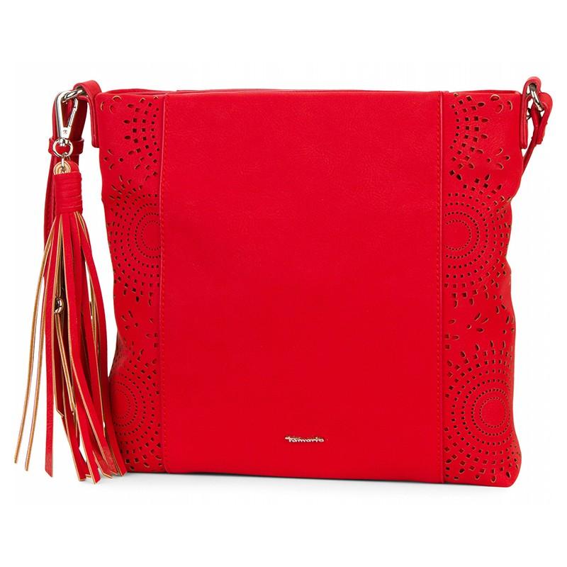 Dámska crossbody kabelka Tamaris Alison - červená