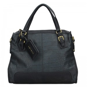 Dámska kabelka Sisley Monics - modrá
