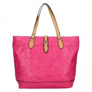 Dámska kabelka Sisley Ramona - ružová