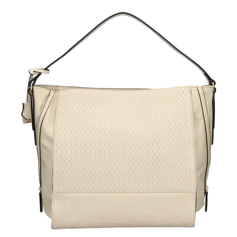 Dámska kabelka Sisley Matilda - béžová