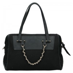 Dámska kabelka Sisley Nicoll - čierna