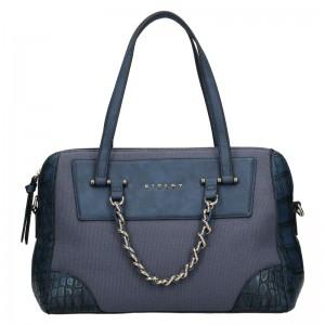 Dámska kabelka Sisley Nicoll - modrá