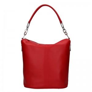 Dámska kožená kabelka Facebag Talma - svetlo hnedá