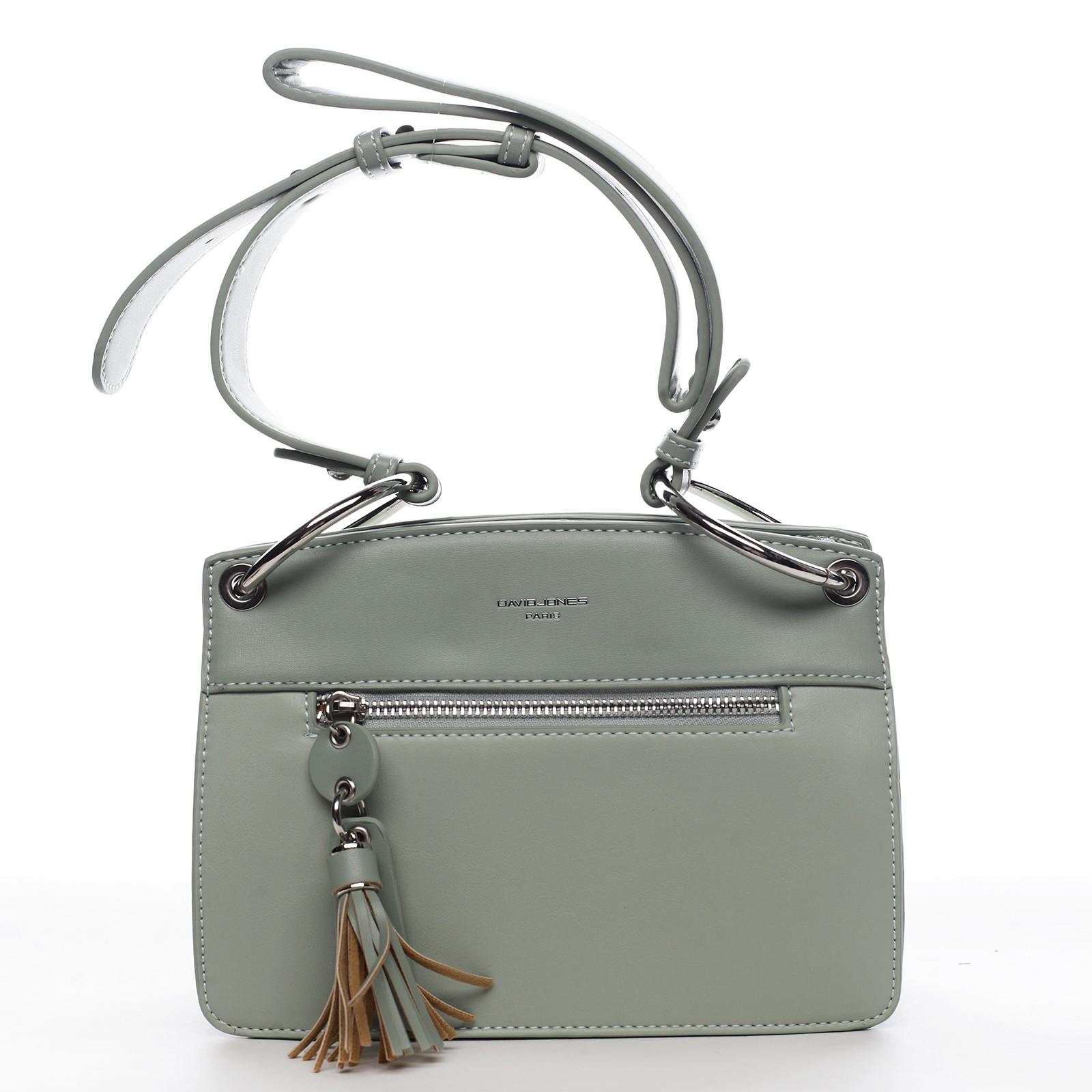 Dámska kabelka David Jones Grace - zelená