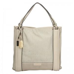 Dámska kabelka Sisley Cicela - béžová