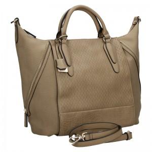 Dámska kabelka Sisley Kleris - hnedá