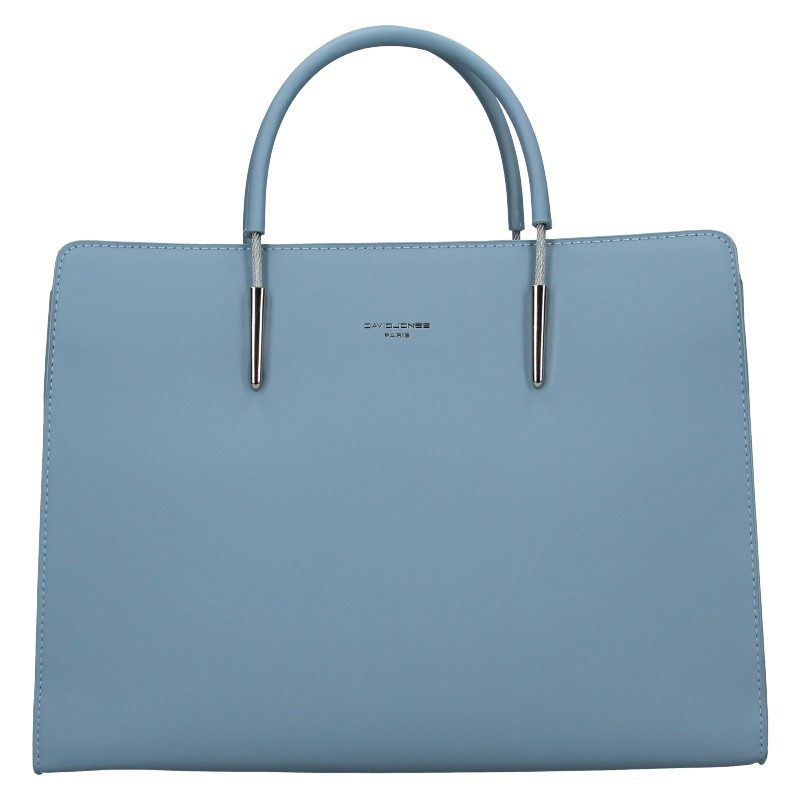 Dámska kabelka David Jones Milla - modrá