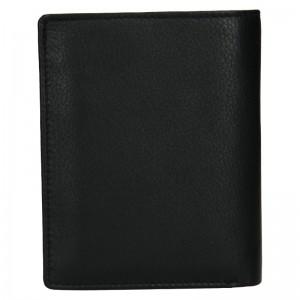 Pánska kožená peňaženka SendiDesign Paul - čierna