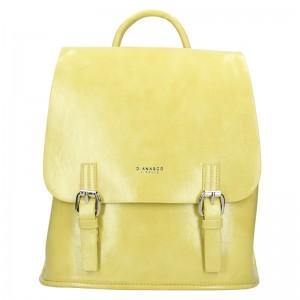 Dámska kabelka Diana & Co Amalia - žltá