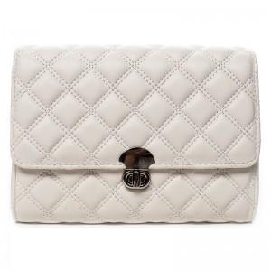 Dámska listová kabelka Michelle Moon Olivia - biela