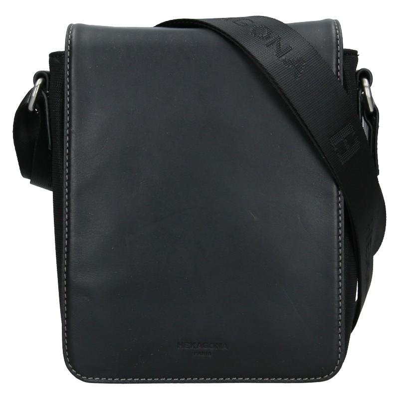 Pánská taška přes rameno Hexagona Pillus - čierna
