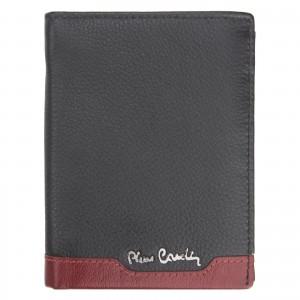 Pánska kožená peňaženka Pierre Cardin Joe - čierno-modrá