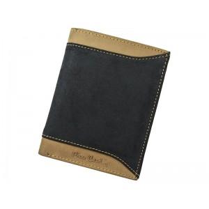 ánska kožená peňaženka Pierre Cardin Joe - čierno-červená