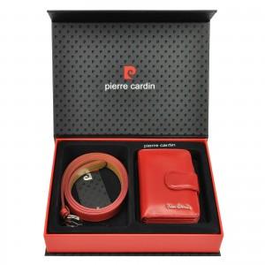Luxusná dámska darčeková sada Pierre Cardin Monica - červená