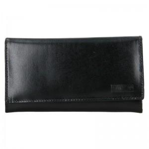 Dámska kožená peňaženka Lagen Vera - čierna