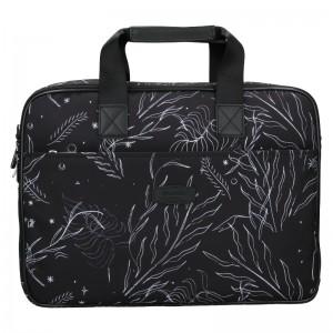 Dámska taška na notebook Hexagona Kerry - čierna