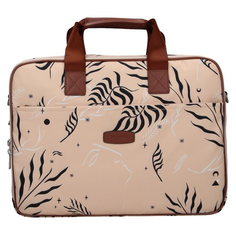 Dámska taška na notebook Hexagona Kerry - ružová