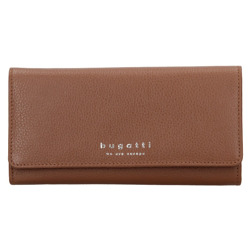 Dámska kožená peňaženka Bugatti Enke - hnedá