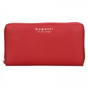Dámska kožená peňaženka Bugatti Ruth - červená