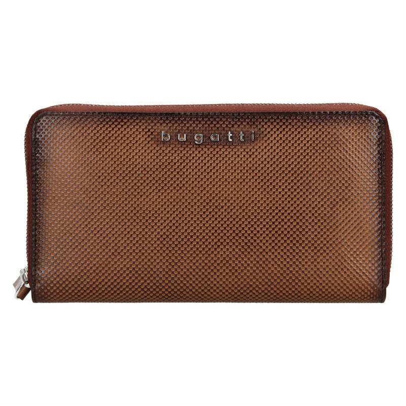 Dámska kožená peňaženka Bugatti Erika - hnedá