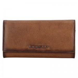 Dámska kožená peňaženka Bugatti Fiona - hnedá