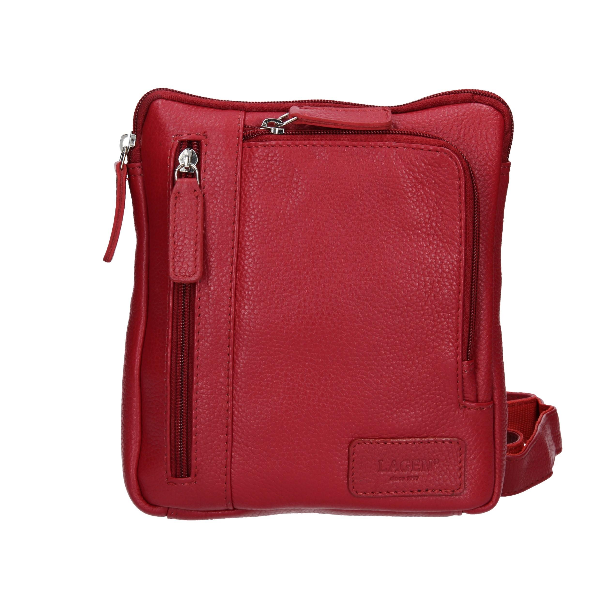 Dámska crossbody kabelka Lagen Marion- červená