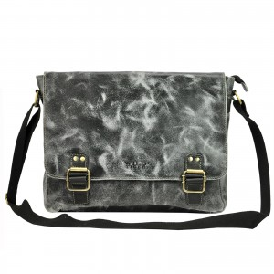 Pánska taška cez rameno Always Wild Medard - čierna