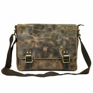Pánska taška cez rameno Always Wild Medard - hnedá