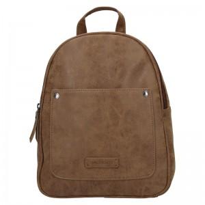 Moderní dámský batoh Enrico Benetti Zelda - hnedá