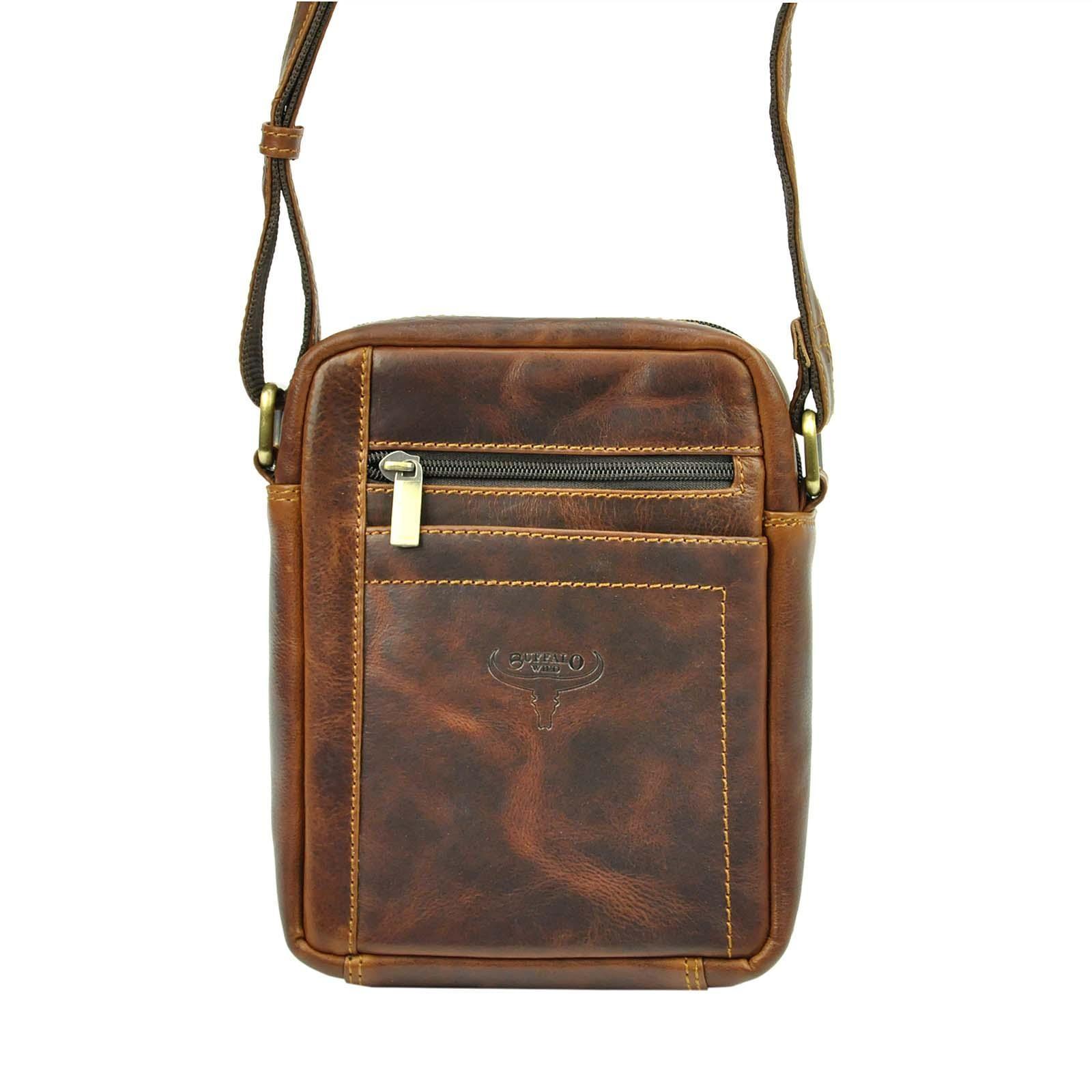 Pánská taška přes rameno Buffalo Wild Merro - hnedá