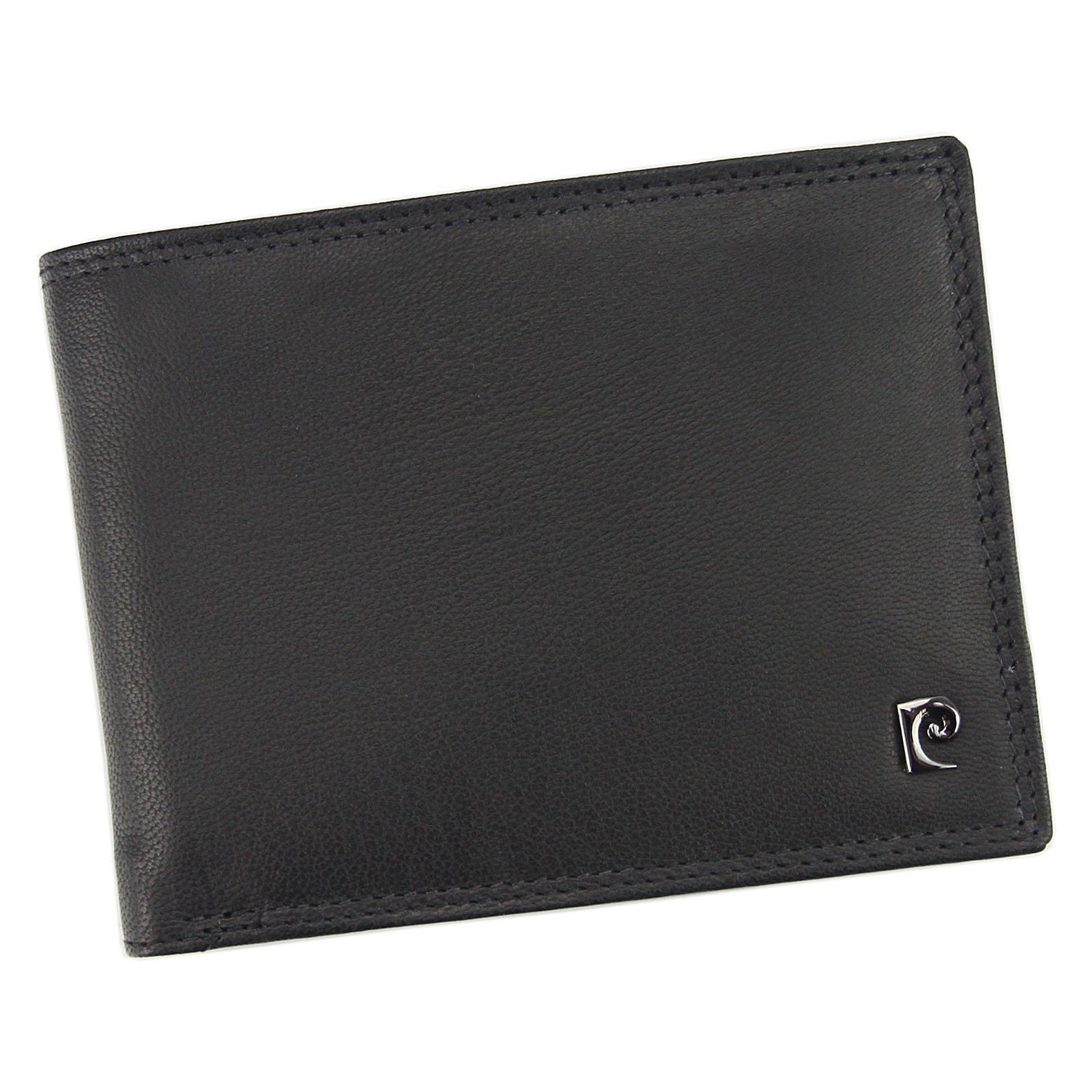 Pánska kožená peňaženka Pierre Cardin Vlado - čierna