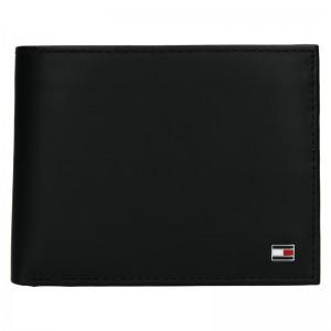 Pánska kožená peňaženka Tommy Hilfiger Nestor - čierna