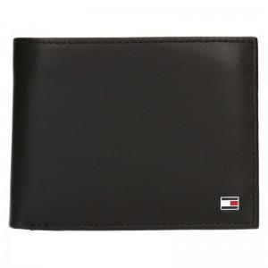 Pánska kožená peňaženka Tommy Hilfiger Gunnar - tmavo hnedá