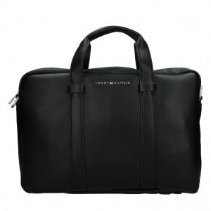 Pánska taška cez rameno Tommy Hilfiger Flat - čierna
