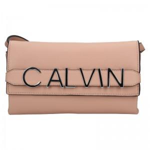 Dámska crossbody kabelka Calvin Klein Europa - ružová