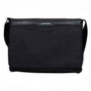 Pánska taška cez rameno Calvin Klein Europ - čierna