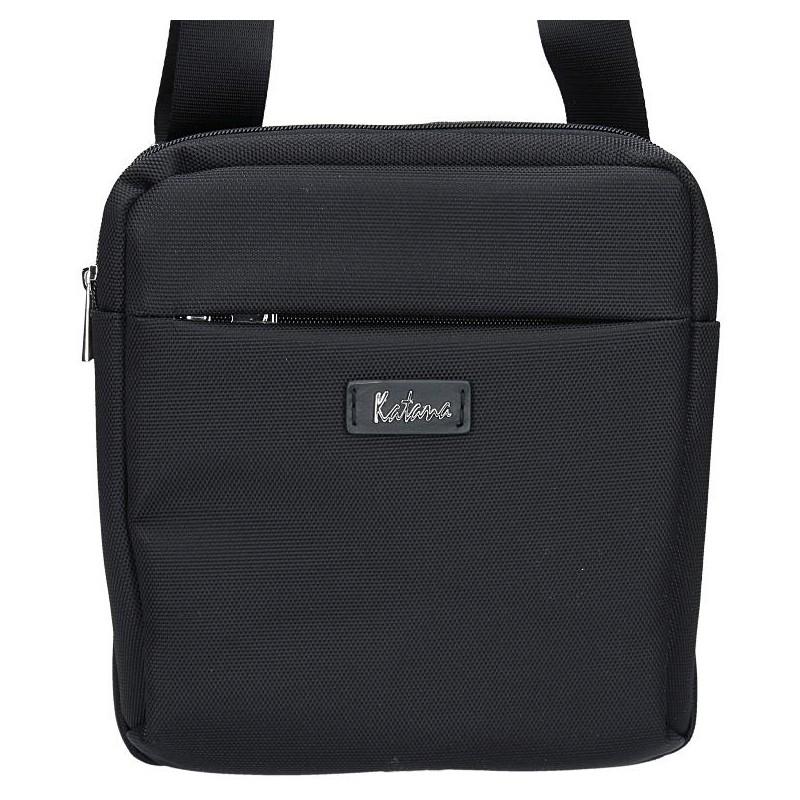 Pánska taška na doklady Katana Dorma - čierna