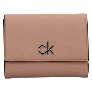 Dámska peňaženka Calvin Klein Trifoldia - ružová