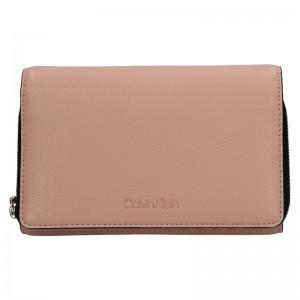 Dámska peňaženka-kabelka Calvin Klein Minies - ružová