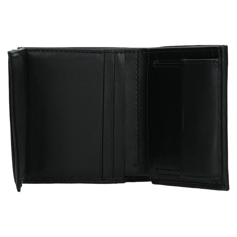 Pánska kožená peňaženka Calvin Klein Tifol - čierna