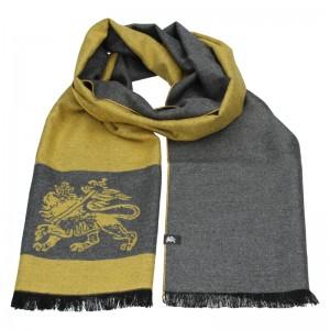 Elegantná pánska šál Lerros Grego - žlto-šedá