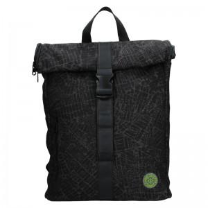 Pánsky batoh Lerros Ursus - čierno-šedá