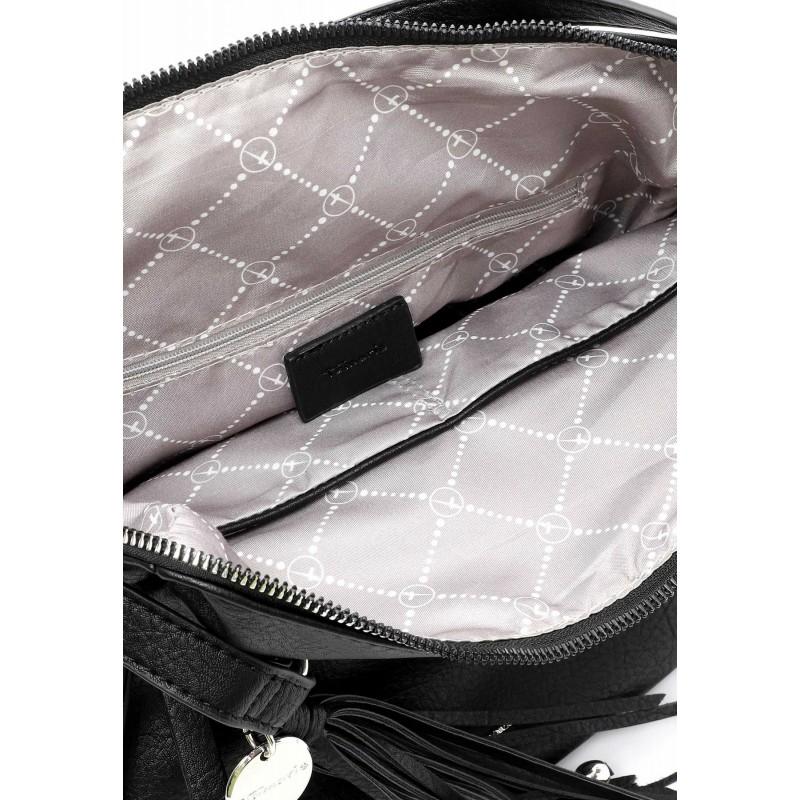 Dámska batôžky-kabelka Tamaris Adole - čierna