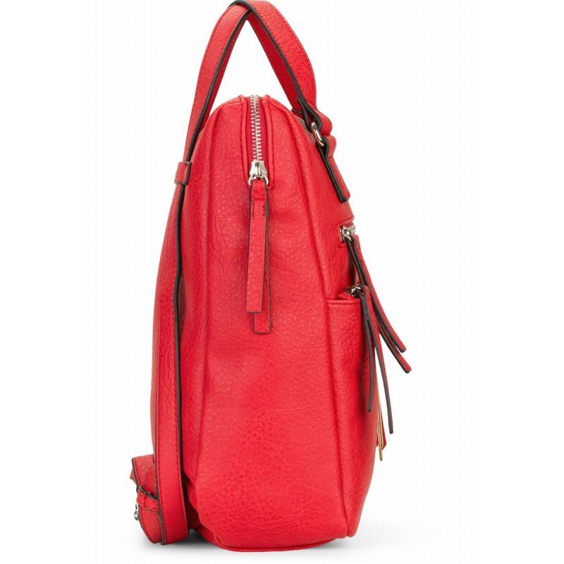 Dámska batôžky-kabelka Tamaris Adole - červená