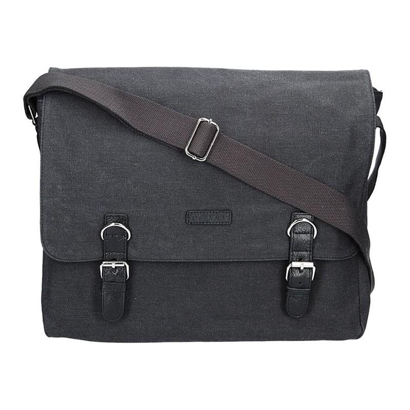 Pánska taška Katana Toile - čierna