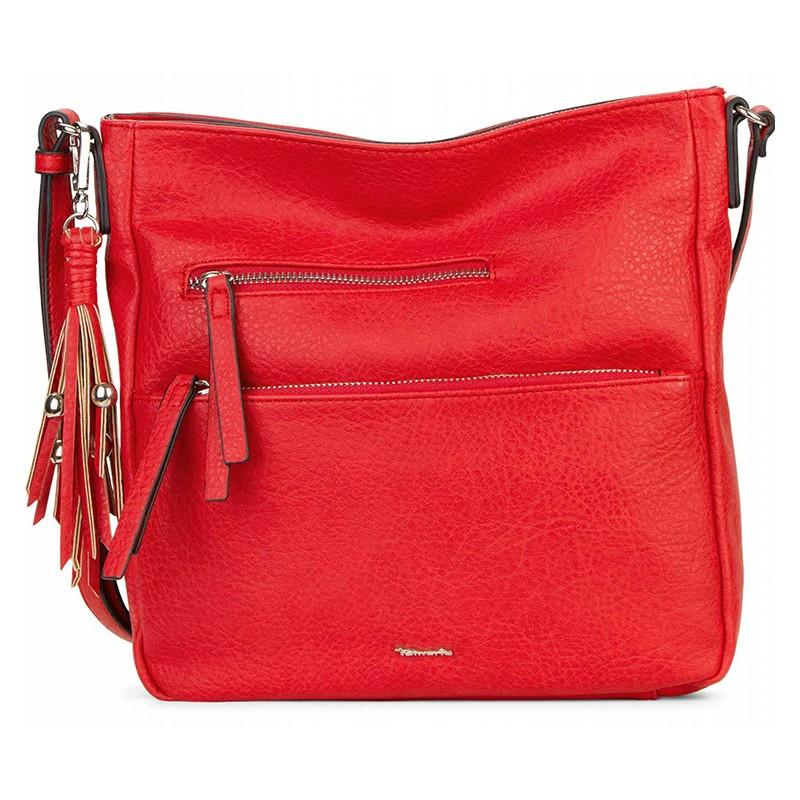 Dámska crossbody kabelka Tamaris Adelay - červená