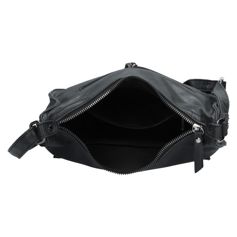 Dámská crossbody kabelka Enrico Benetti Madet - čierna